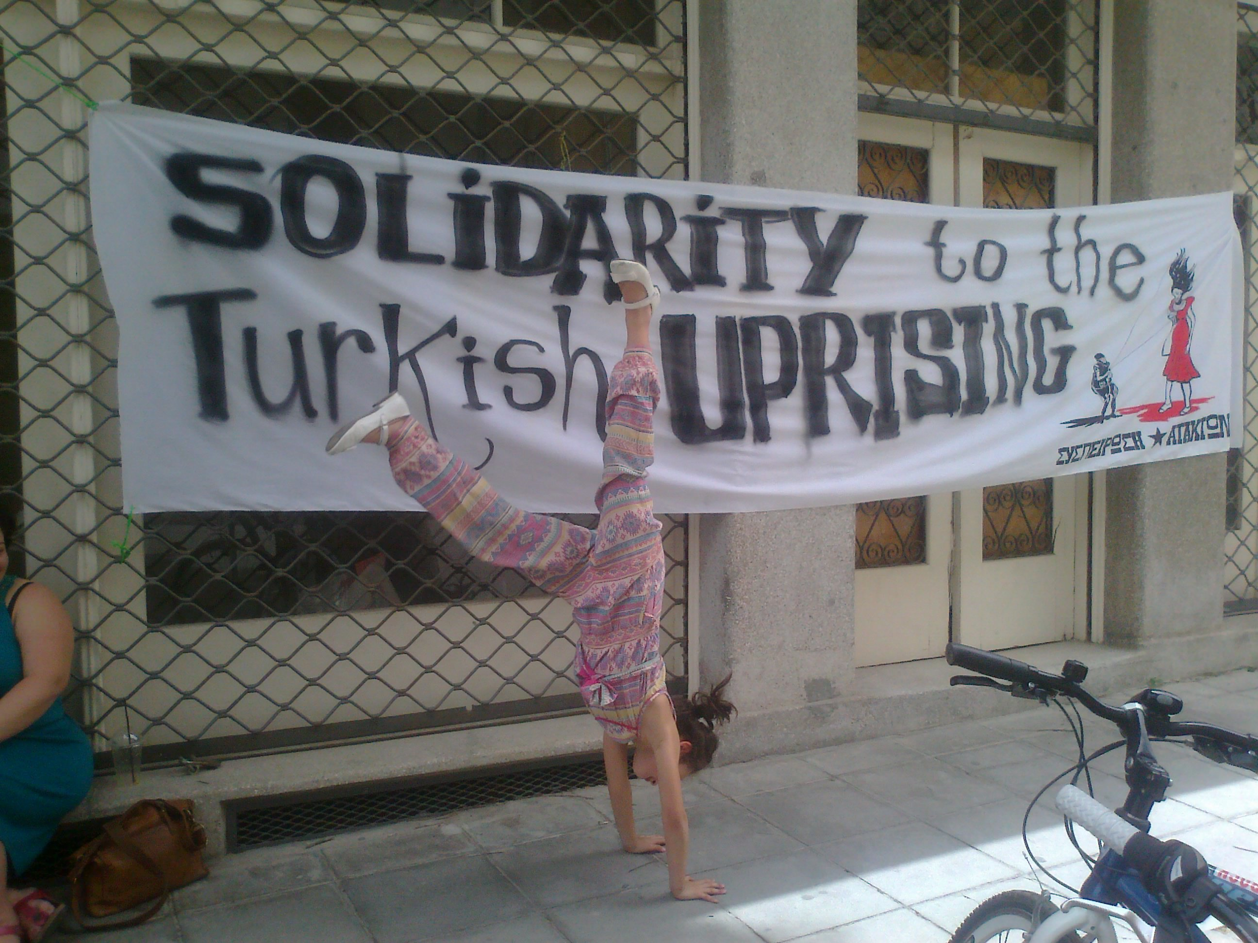 solidary to the Turkish upring